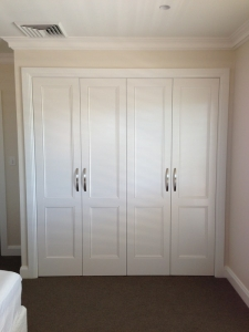 Tesrol doors on wardrobe in Mosman