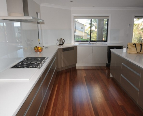 Aluminium handleless kitchen balgowlah